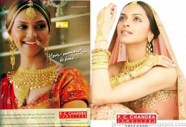 Deepika Padukone In P C Chandra Jewellers Ad Latest