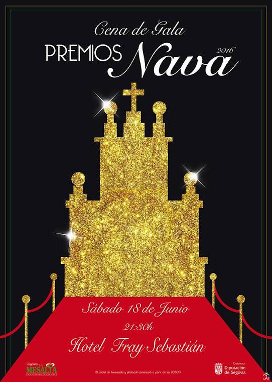 Cartel oficial Premios Nava 2016