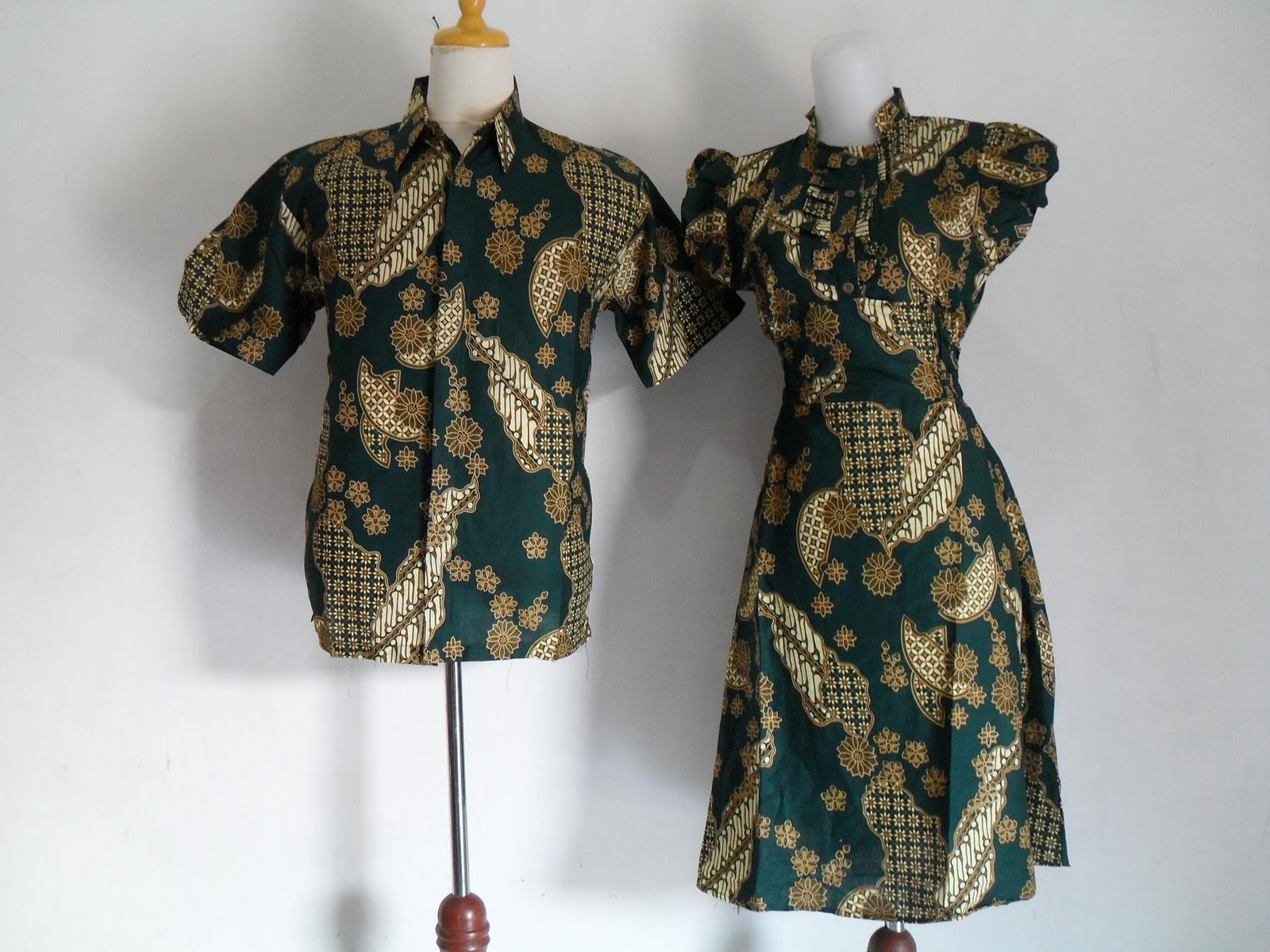 One Stop Batik Online Shop Sarimbit Jagad Kipas Hijau Dress One Stop Batik Online Shop Sarimbit Jagad Kipas Hijau Dress