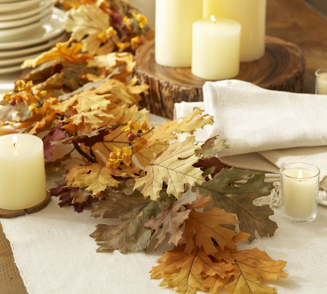 Leaf Table Decor