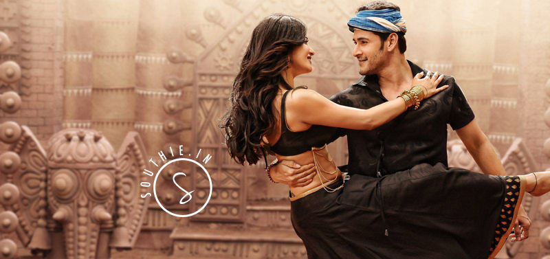 Mahesh Babu and Sruthi Haasan in Srimanthudu, The movie sits at the Top 2nd Position in the Box office Collections, only after Baahubali.