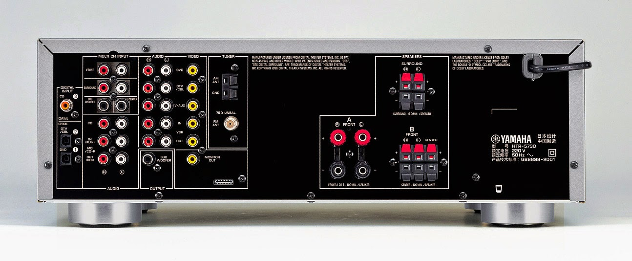 Yamaha Htr 5730 Av Receiver Audiobaza