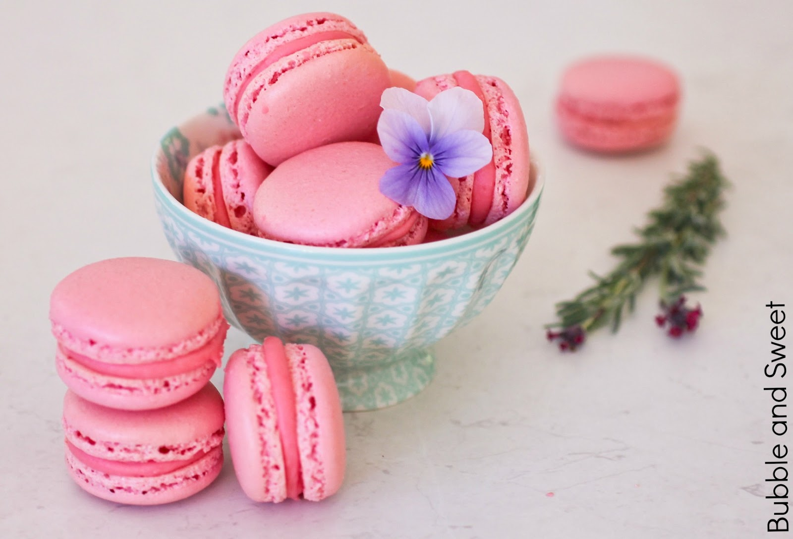 Raspberry And Pink Peppercorn Macarons And A Little Giveaway Recipe ...