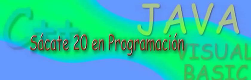 Sácate 20 en Programación