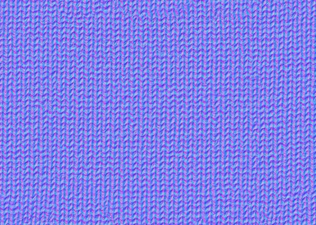 Seamless Blue Wool Fabric Maps Texturise Free