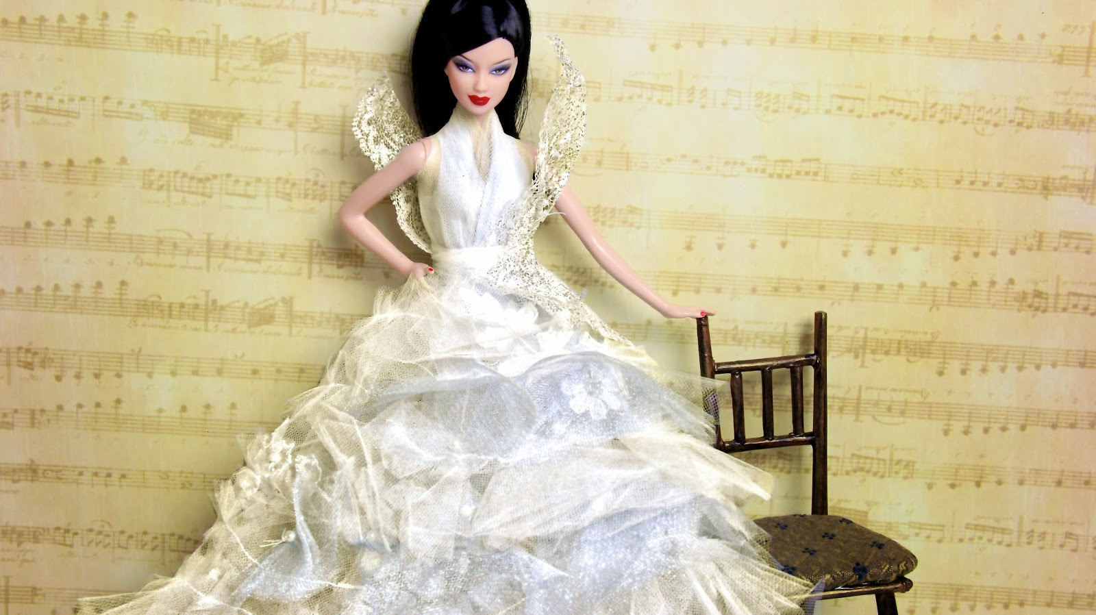 My froggy stuff stunning easy to make doll dresses for almost any stunning easy to make doll dresses for almost any size doll ccuart Choice Image