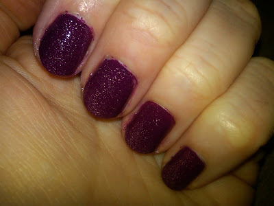CND, CND Plum Truffle Collection, CND nail polish, CND nail lacquer, CND Plum Truffle #585 Colour, CND Plum Truffle Sparkle #586 Effect, nail, nails, nail polish, polish, lacquer, nail lacquer, mani, manicure