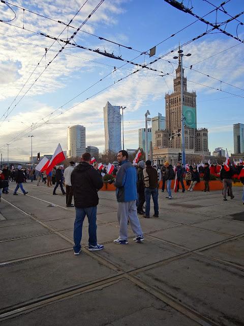 Warszawa. Marsz Niepodległości 2013