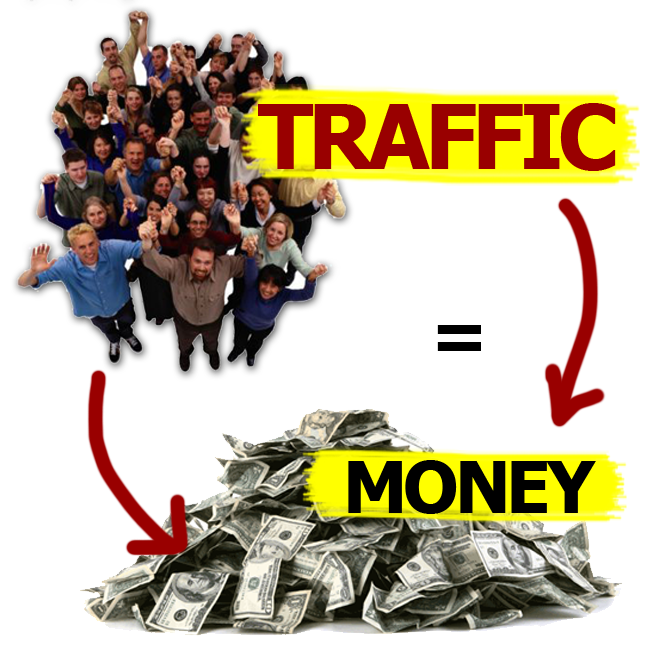 traffic and money