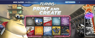 Dreamworks Turbo - Free Printables for Kids