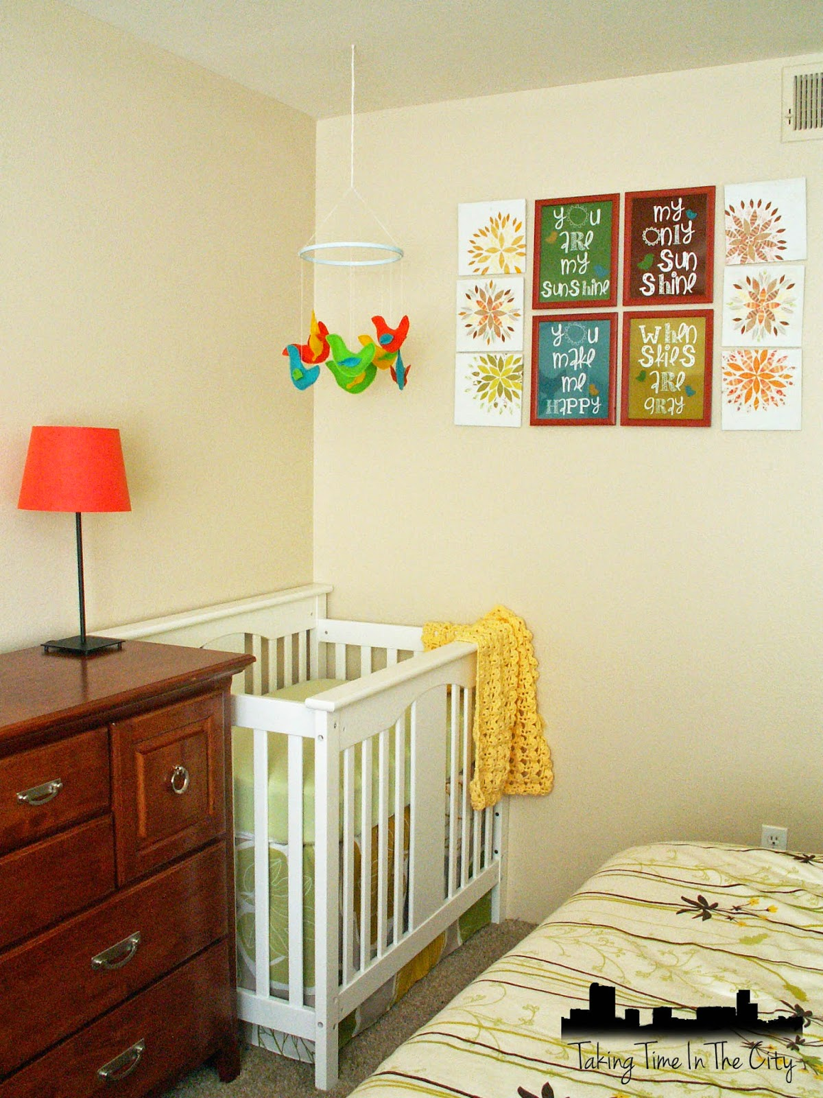 Taking Time In The City Nursery Tour Corner Nursery In A Master Bedroom