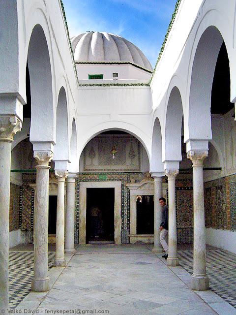 Borbély-mecset, Kairouan, Tunézia, Afrika