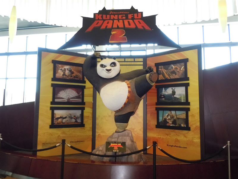 Kung Fu Panda 2 movie display