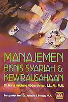 toko buku rahma: buku MANAJEMEN BISNIS SYARIAH & KEWIRAUSAHAAN, pengarang nana herdiana abdurrahman, penerbit pustaka setia