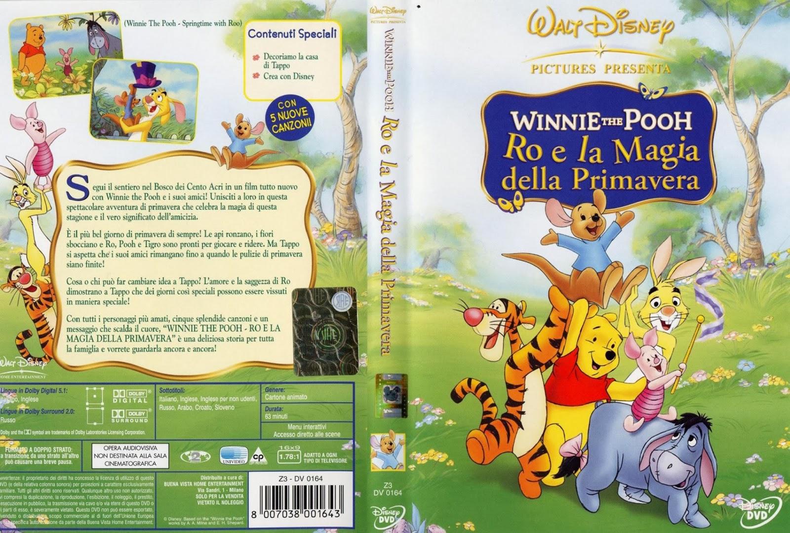 Winnie the pooh la storia e tutti i personaggi