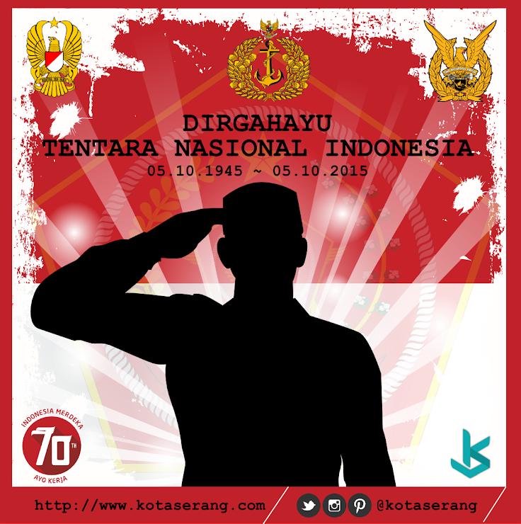 Gambar Vector - Gambar Peringatan Hari Ulang Tahun TNI 05 Oktober 2015