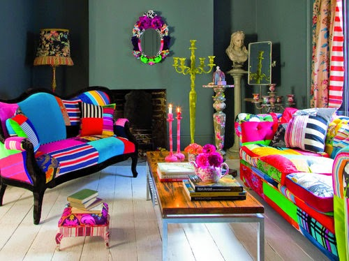 Heteruf designs decoraci n estilo kitsch pop art - Muebles pop art ...