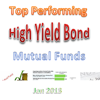 Top Performing High Yield Bond Mutual Funds 2013