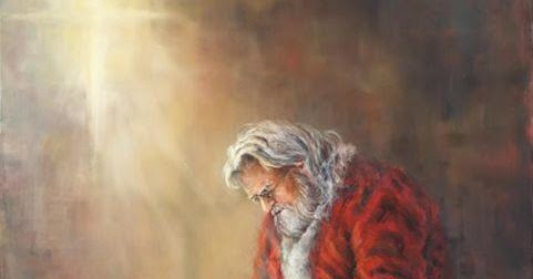 santa and baby jesus jolly ol st nicholas - Santa And Jesus