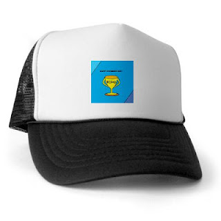 Happy Father's Day No 1 Dad Trophy Trucker Hat