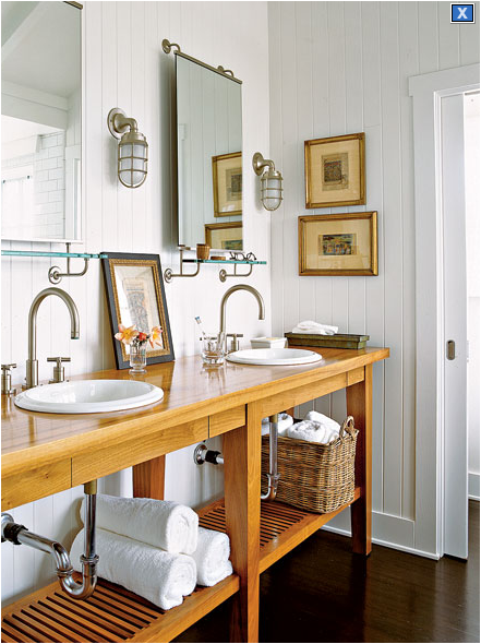 Cottage style bathroom design ideas for Cottage style bathroom ideas