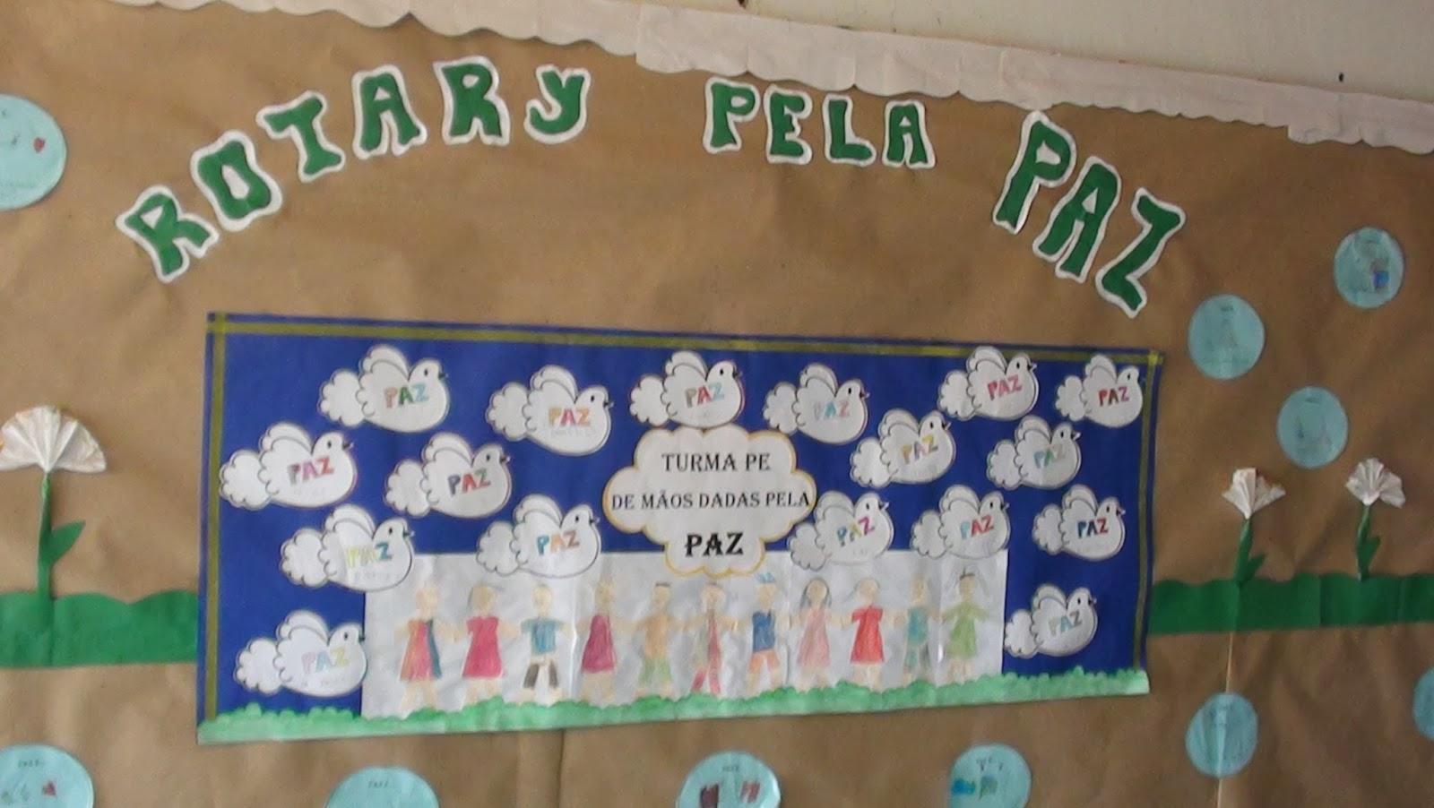 Blog da escola municipal rotary goi nia sul for Bordas para mural