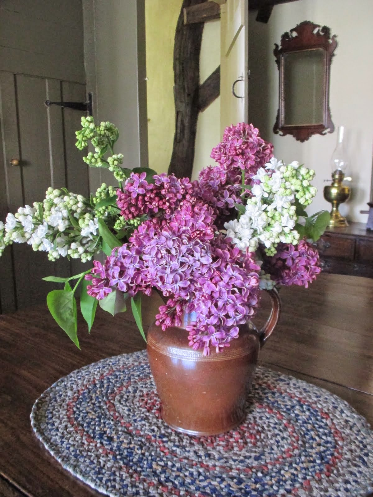 Lilac from our Cottage Garden
