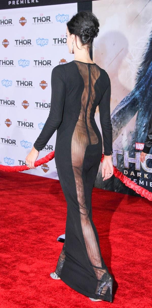 Jaimie Alexander Thor Dress