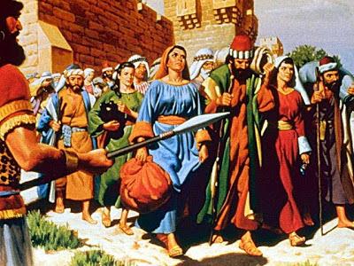 Judíos - Deportación de los judíos a Babilonia - Historia de las civilizaciones
