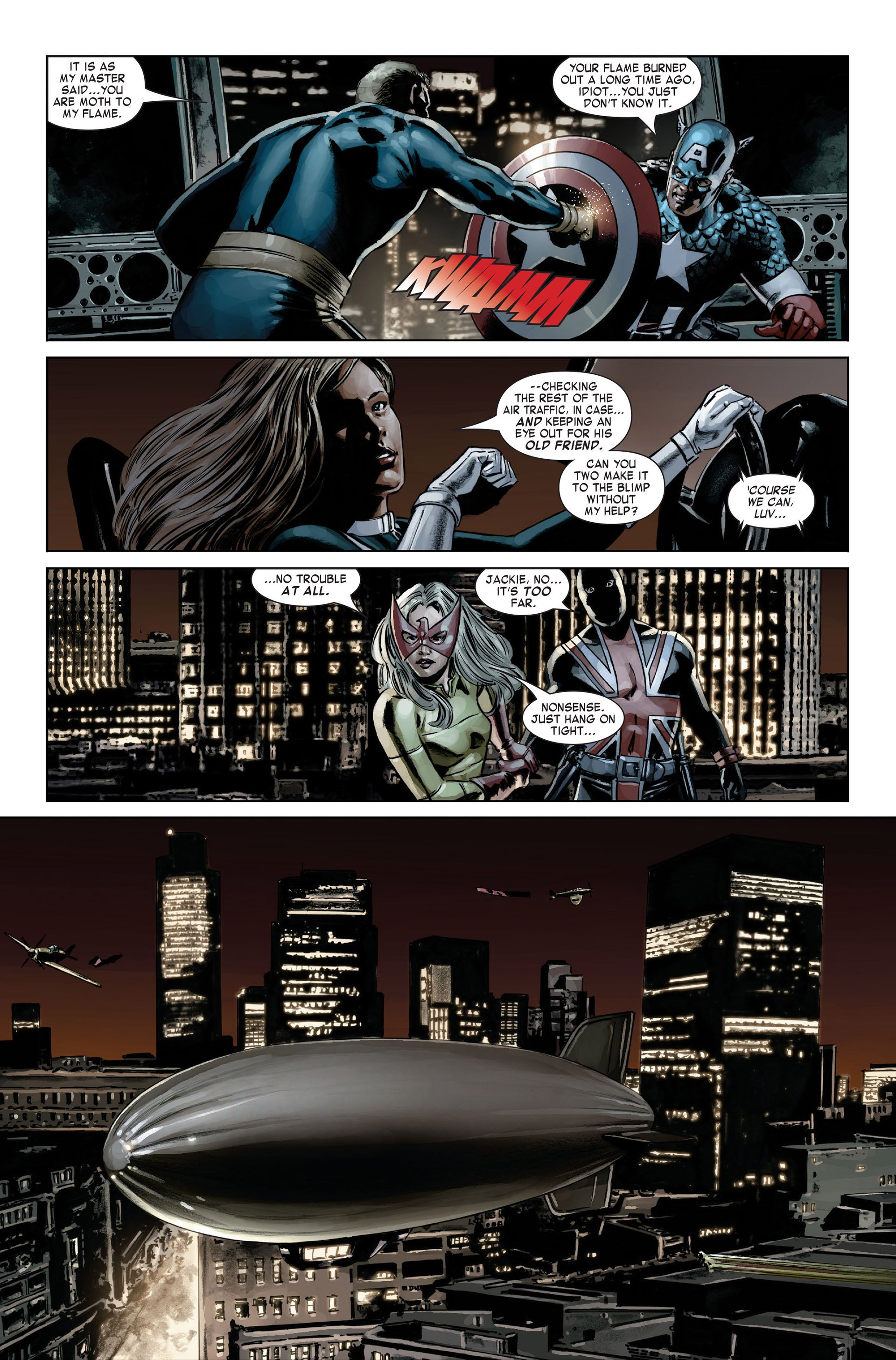 Captain America (2005) Issue #20 #20 - English 12