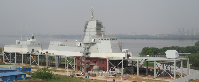 Type 055 Mockup