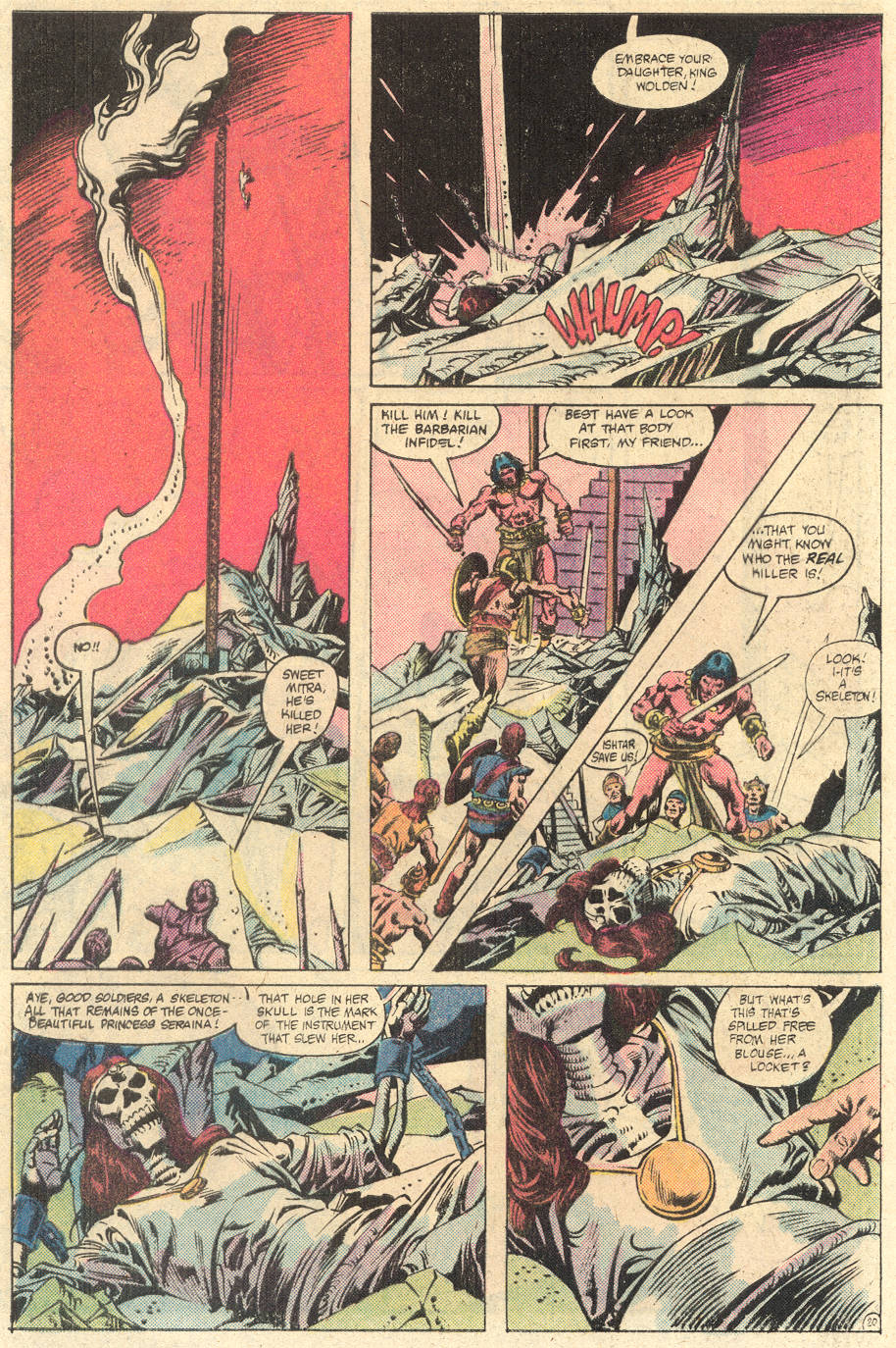 Conan the Barbarian (1970) Issue #133 #145 - English 22