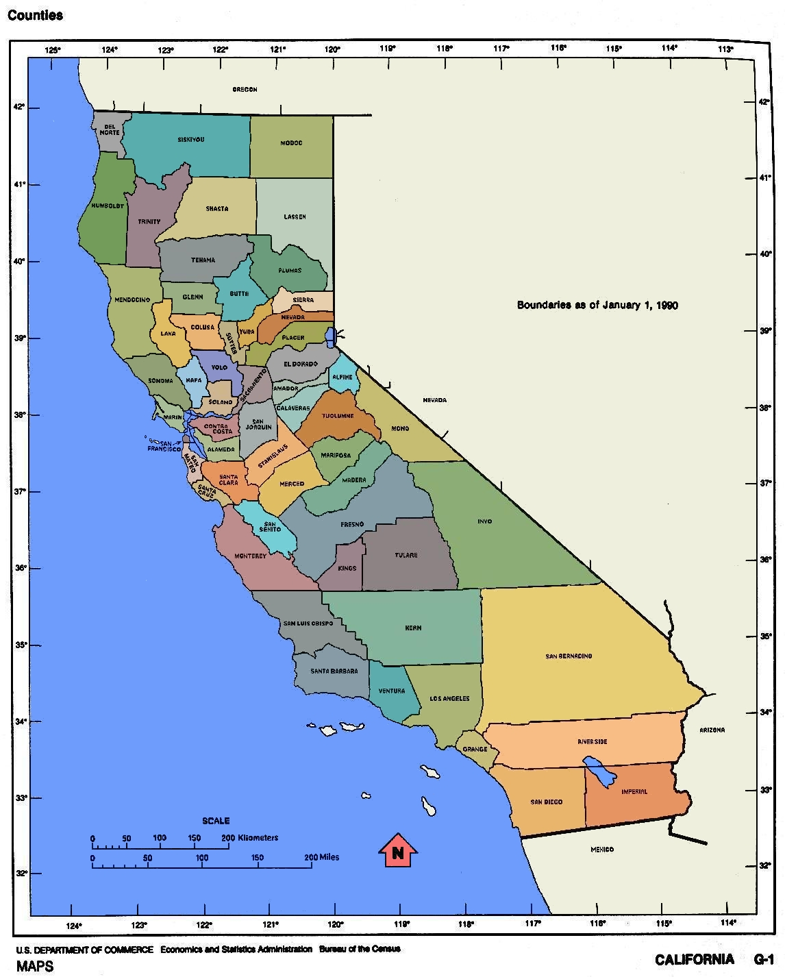 April California Map Cities Town Pictures - Map of california cities and towns