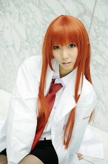 Steins;Fate Makise Kurisu cosplay by Hayase Ami