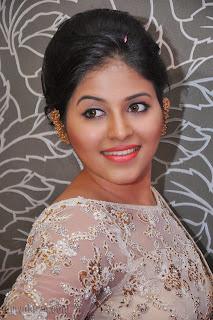 Anjali latest Glamorous pics in saree 003