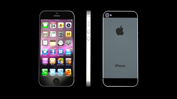 illustrasi iPhone 5