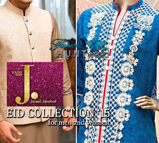 Junaid Jamshed Eid Collection 2015 For Men & Women
