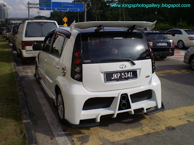 Perodua Myvi Custom Bodykit
