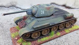 Plastic Soldier Company Soviet T-34 PSC 1/72 scale