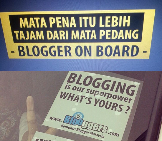 Custom Made Sticker Kereta - Sifu Blogger - SEO Contest