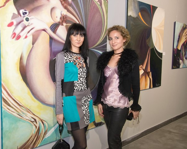 Е.Антонова (слева) и Л. Янко