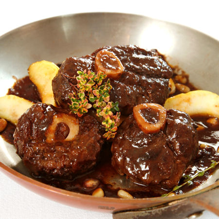 cooker osso buco milanese osso bucco pasta with shiitake peas and goat ...
