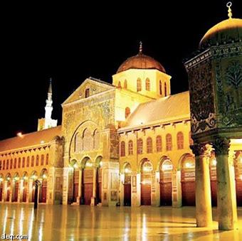 الجامع الأموي الكبير بدمشق الشام (سُوريــا)