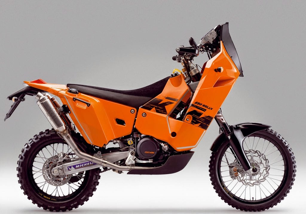 KTM 690 Rally Bike HD Wallpapers