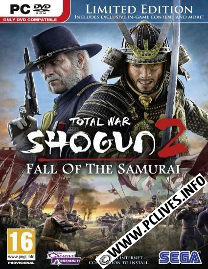 Total War Shogun 2 Fall of the Samurai cover pc game