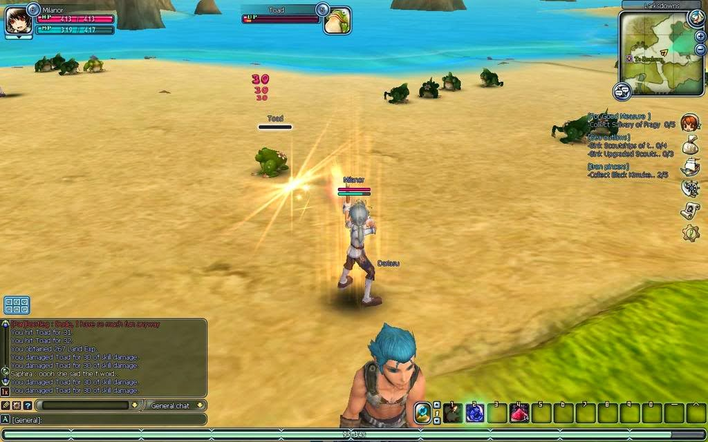 MMORPG Aggro monsters