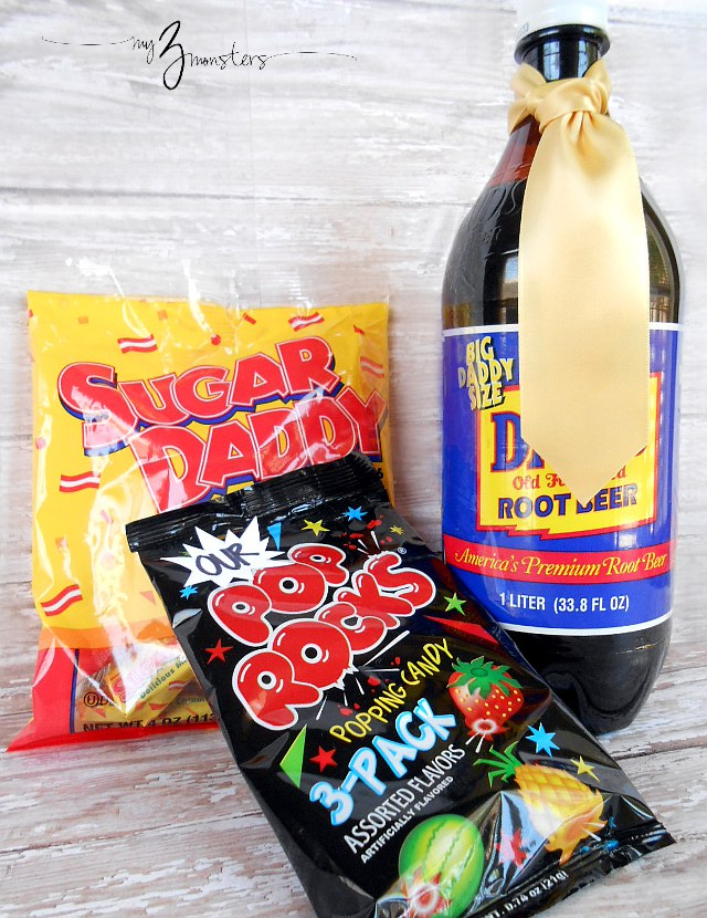Sweet retro treats for Fathers Day at my3monsters.com