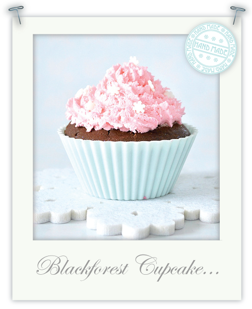 Gluten free Black Forest cupcakes by Torie Jayne