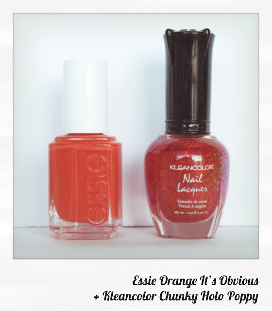 Glitter And Nails: Ouuuuh, Fire ! Essie Orange It's
