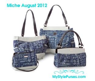 Miche Hope Shells in Blue